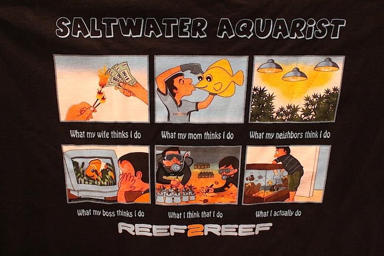 Reef2Reef Saltwater Aquarist T-shirt
