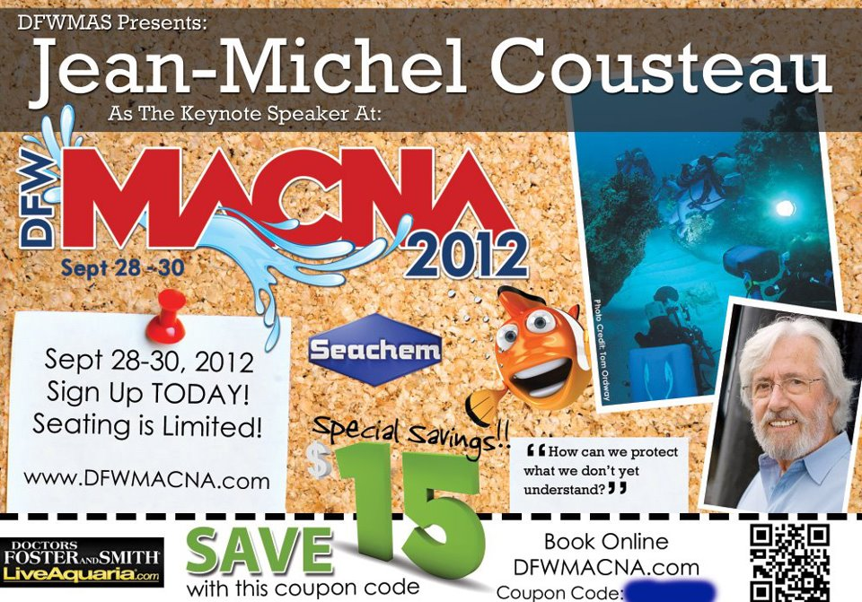 Liveaquaria Offers Discount On Macna Tickets Aquanerd