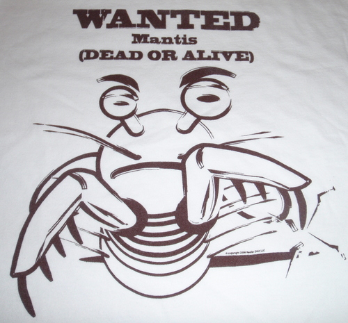 Mantis Wanted Dead or Alive
