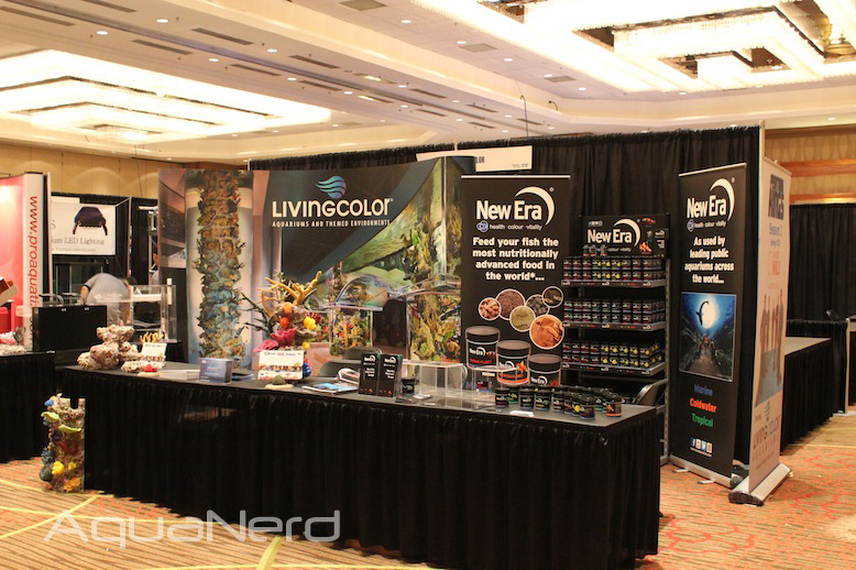 Living Color Aquariums Booth