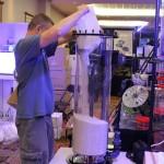 Reef Octopus Reactor Set Up