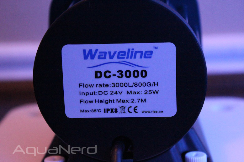 Waveline DC-3000 Pump