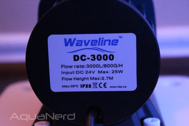 Waveline DC-3000 Pump