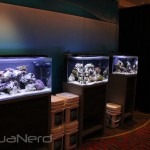 Fluval Aquariums with Marine & Reef LED Strip Lights
