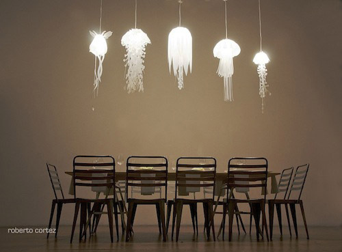 Jellyfish Pendant Lamps
