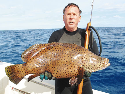 Panther Grouper Caught in Florida