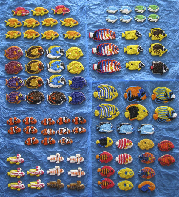 Reef Fish Cookies by Jason Langer