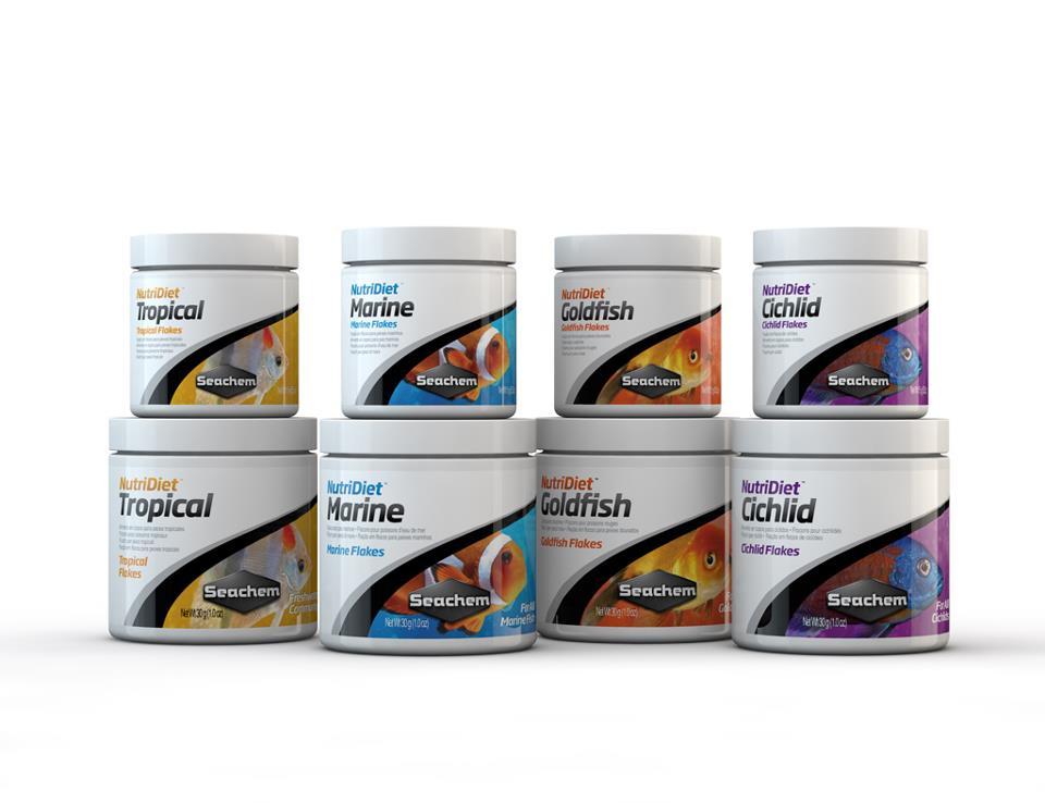 Seachem NutriDiet Flake Food