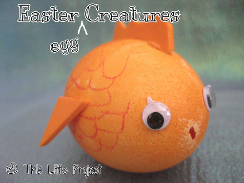 Easter Egg Goldfish