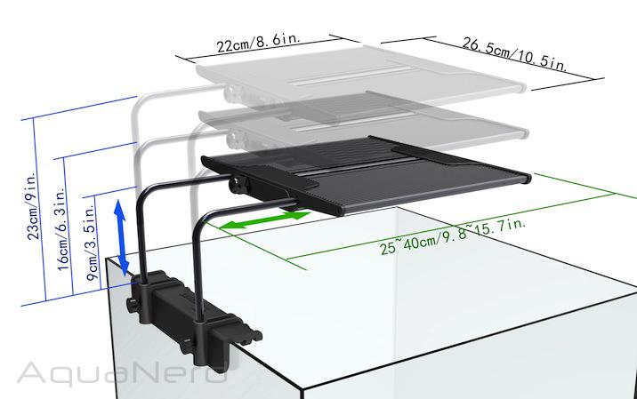 Maxspect R420R Nano Dimensions