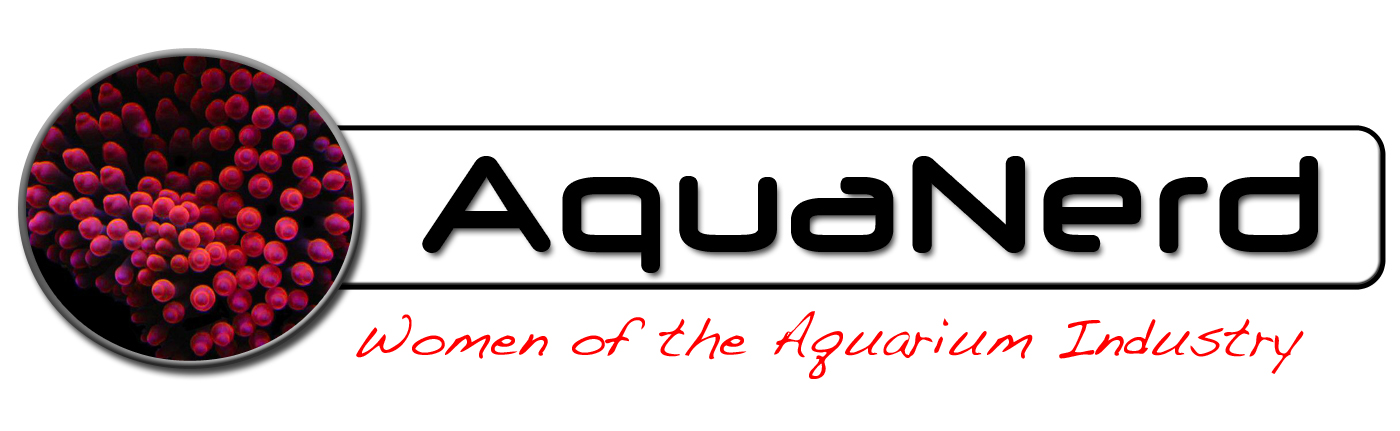 AquaNerd Logo Women of the Aquarium Industry