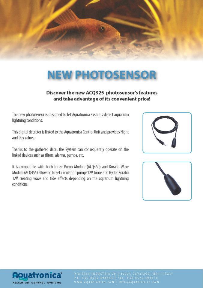 Aquatronica Light Sensor