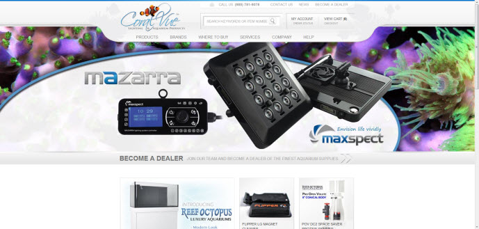 CoralVue New Website