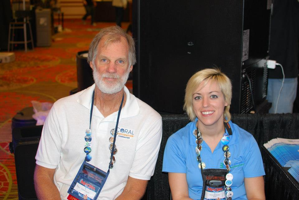 Felicia McCaulley with Ken Nedimyer