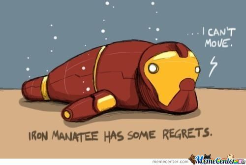 Iron Manatee Regrets
