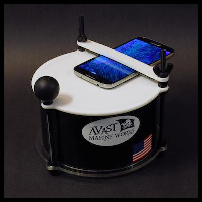 AVAST Marine Works Smartphone Top-Down Porthole