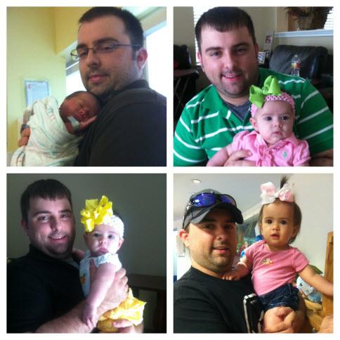Brandon Klaus and Daughter