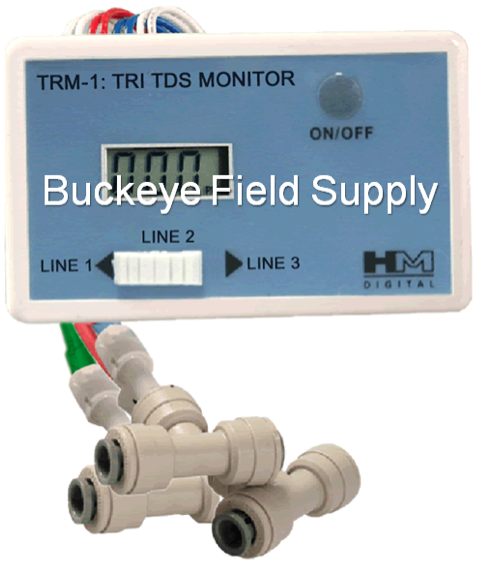 HM Digital TRM-1 3 Probe TDS Monitor