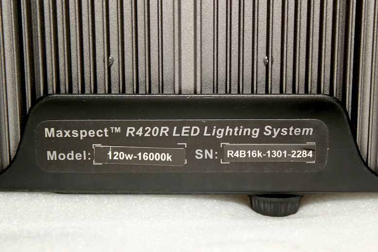 Maxspect R420R Label