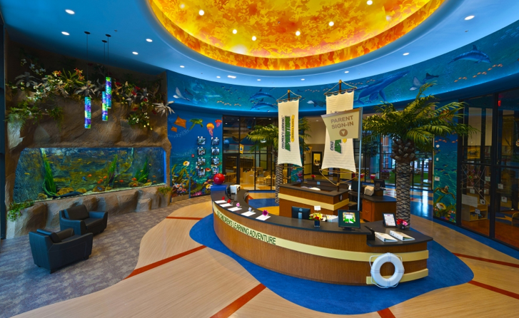 Children's Learning Adventure Lobby