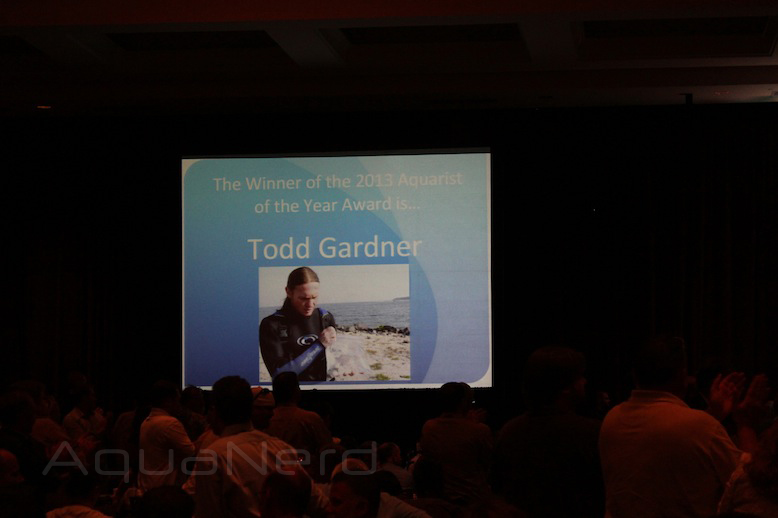 Aquarist of the Year Todd Gardner