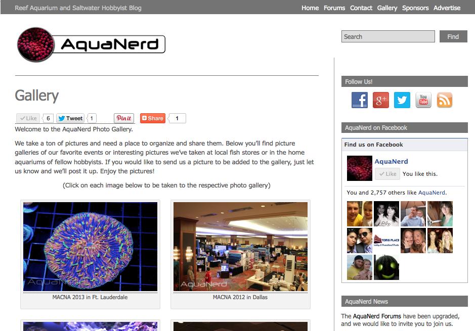 AquaNerd MACNA 2013 Gallery