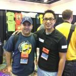Brandon Klaus with Francis Yupangco