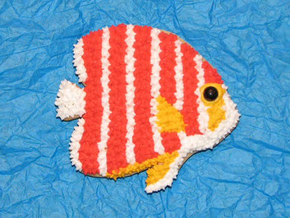 Jason Langer Peppermint Angelfish Cookie