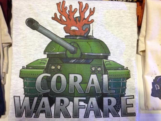 Reefer Tees Coral Warfare