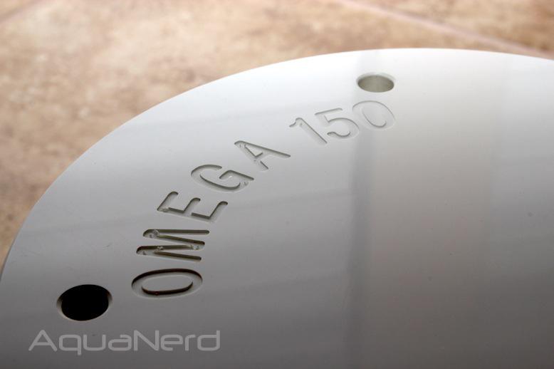 Vertex Omega 150 Cone Skimmer Lid Detail