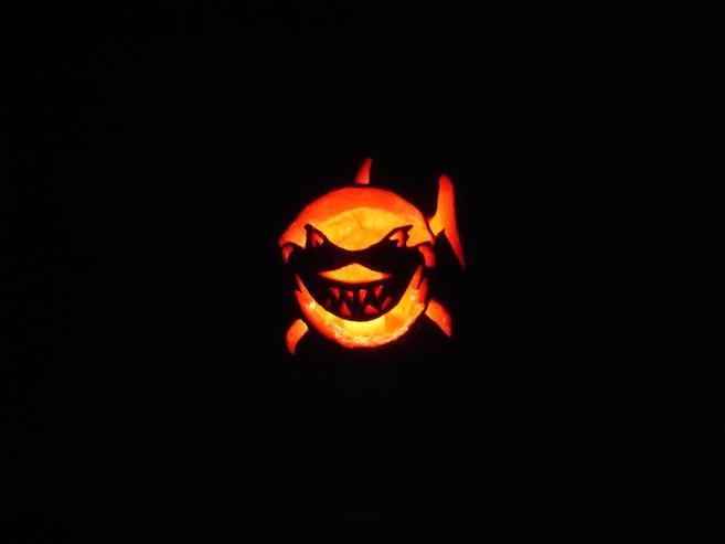 Bruce the Shark Jack-o-lantern