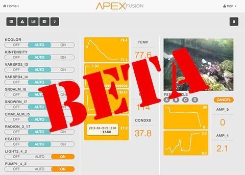 Neptune System Apex Fusion Beta