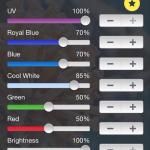 EcoSmart Live Color Sliders