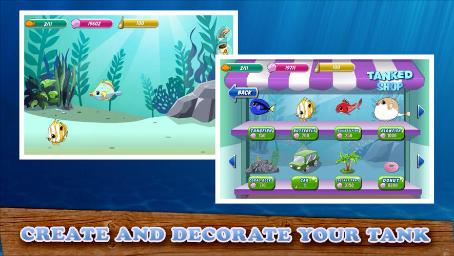 Tanked Aquarium Game Shop