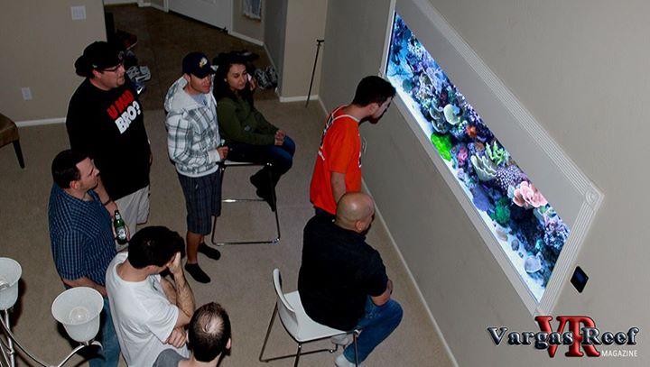 Tony Vargas Touring Arizona Reef Tanks
