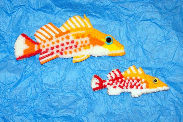 Dr. Seuss Soapfish Reef Cookies