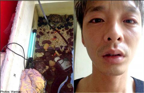 Man Blinded by UV Aquarium Lamp