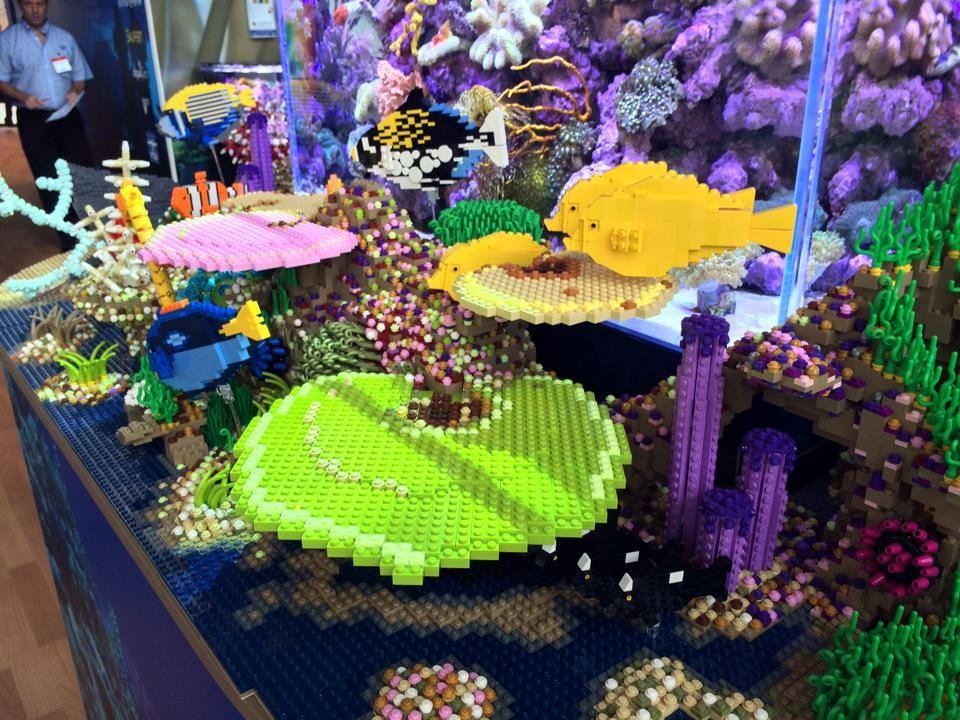 Tropical Marine Centre Lego Corals and Fish