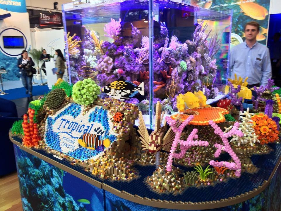 Tropical Marine Centre Lego Reef Tank