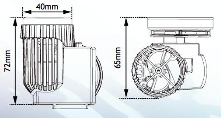 Tunze Turbelle Nanostream Schematic
