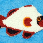 Gold Nugget Clownfish Cookie
