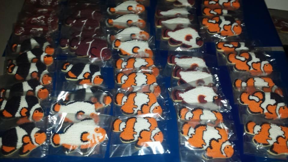 Jason Langer Clownfish Cookies MBI