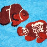 Lightning Maroon Clownfish Cookie