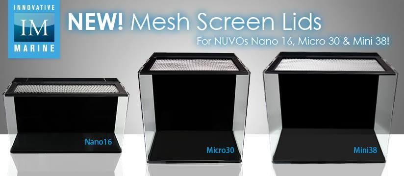 NUVO Nano Mesh Screen Lids