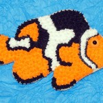 Picasso Clownfish Cookie