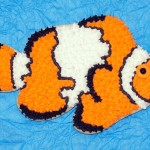 Snowflake Clownfish Cookie
