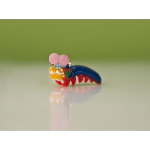 Peacock Mantis Pendant