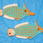Orange Spotted Filefish Pair Cookie Jason Langer
