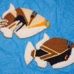Picasso and Rectangle Triggerfish Cookie Jason Langer