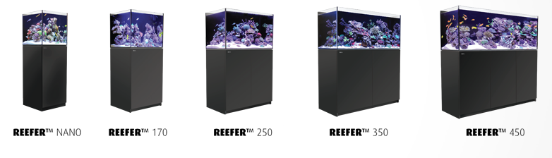 Red Sea REEFER Aquarium Lineup